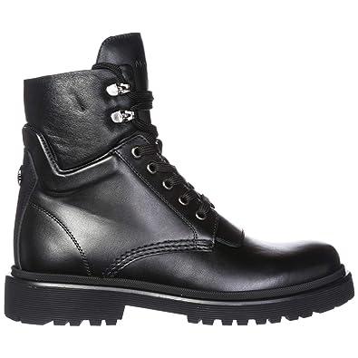 super popular f1f2c 33ffe Moncler Damen Leder Boots Stiefel Patty Schwarz EU 37 ...