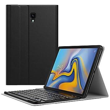 "MoKo Samsung Galaxy Tab A 10.5"" Funda - Teclado Inalánbrico Wireless Bluetooth Keyboard Cover Case"