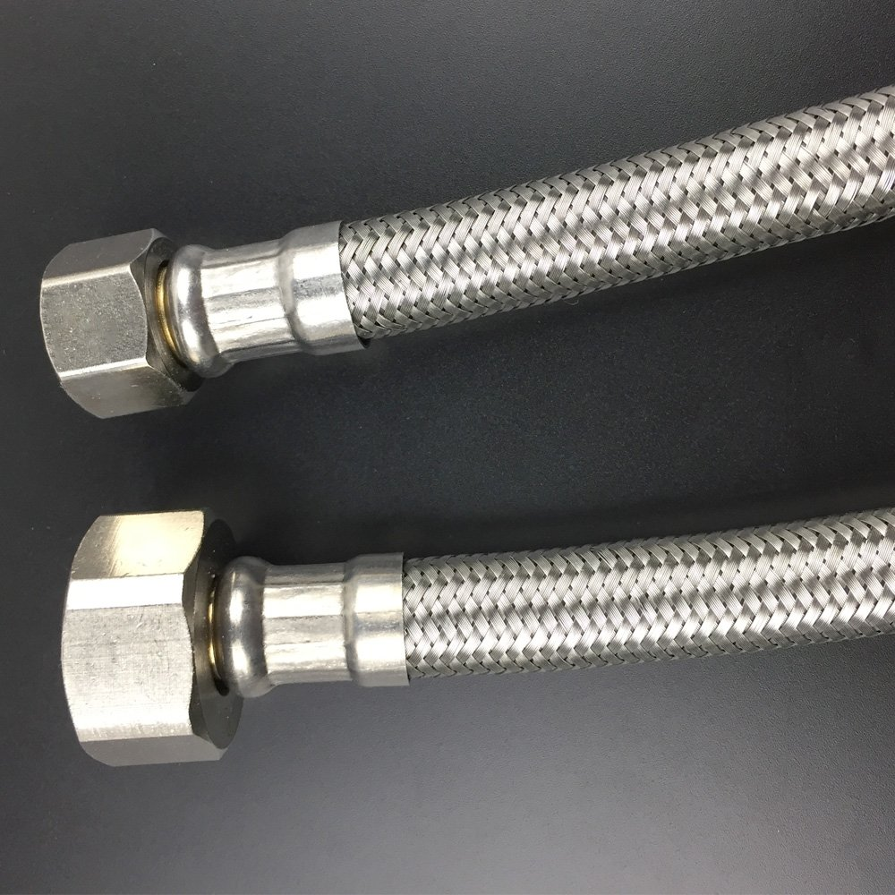 Faucet Connector, Braided Stainless Steel - 3/8\