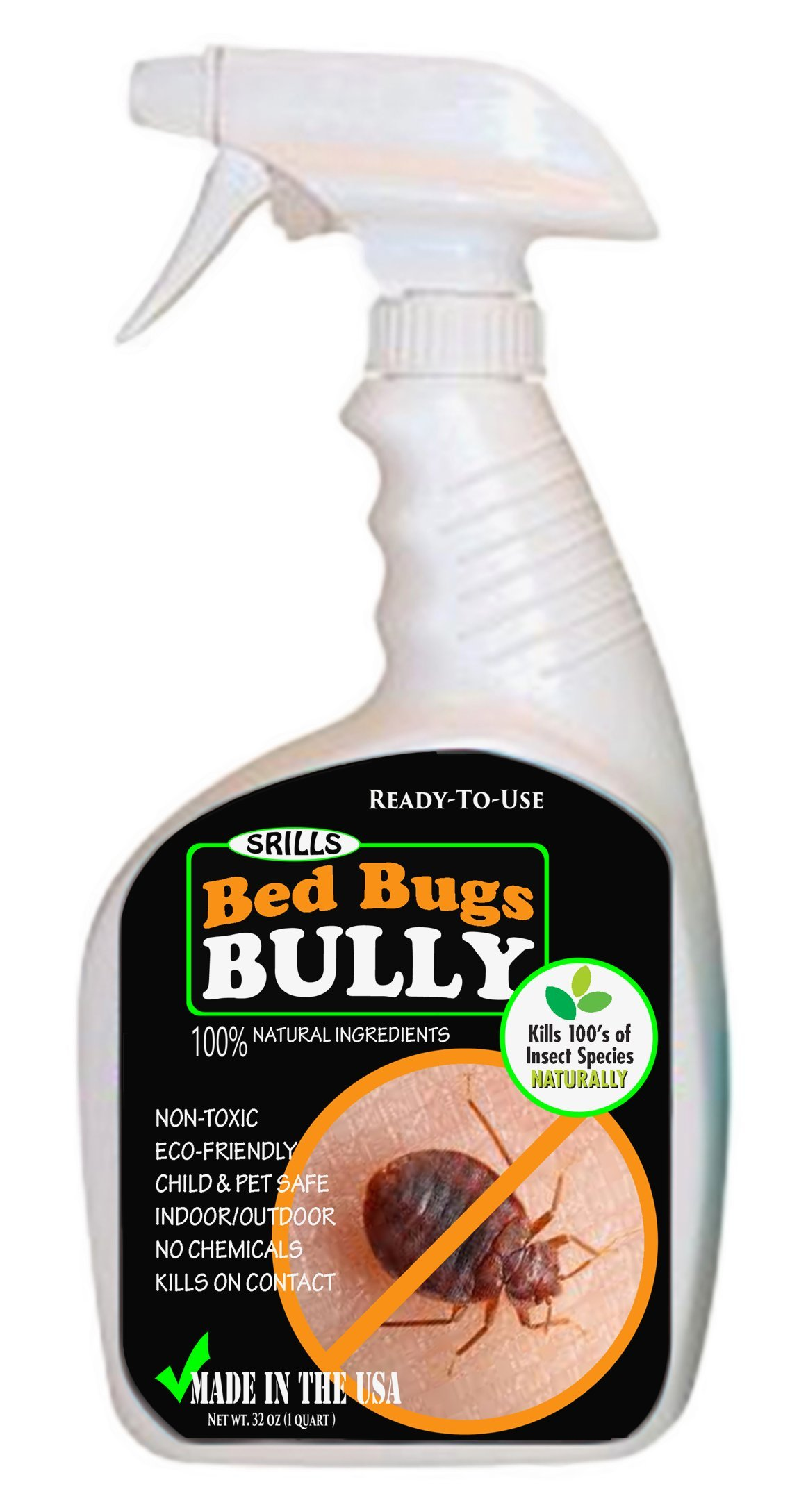 bed bug repellent bed bugs bully 32oz non toxic bed bug spray 28943