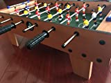 "27"" Tabletop Soccer Foosball Table Game w/ Legs"