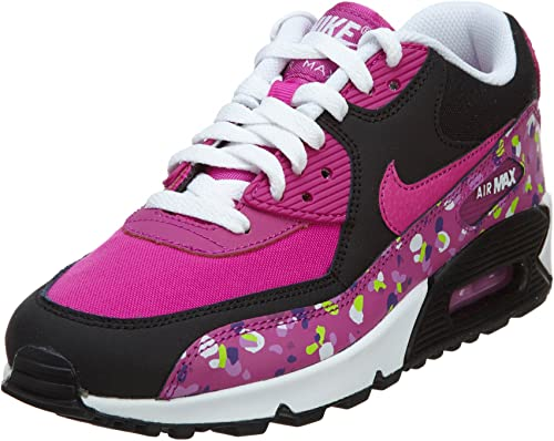 Nike Air Max 90 Premium Mesh (GS) Schuhe fuchsia flash