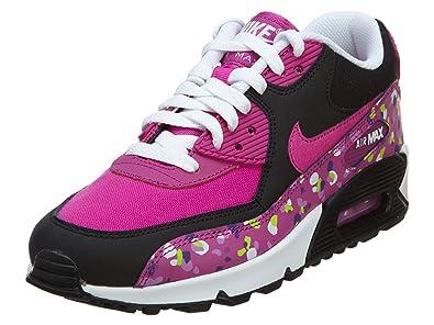 reputable site 07cd5 622b0 Image Unavailable. Image not available for. Colour  Nike Air Max 90 Premium  Mesh (GS) Schuhe fuchsia flash-fuchsia ...