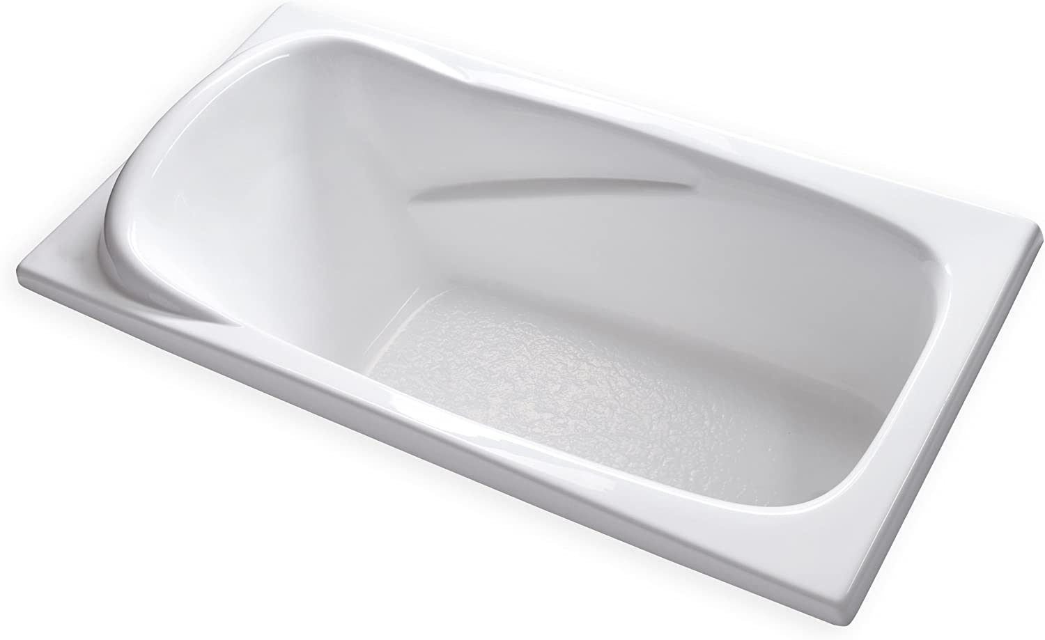 """Oil Rubbed Bronze Drain//Overflow White Acrylic Carver Tubs 71L x 32W x 24H Journey 71/"""" Freestanding Soaking Tub"""
