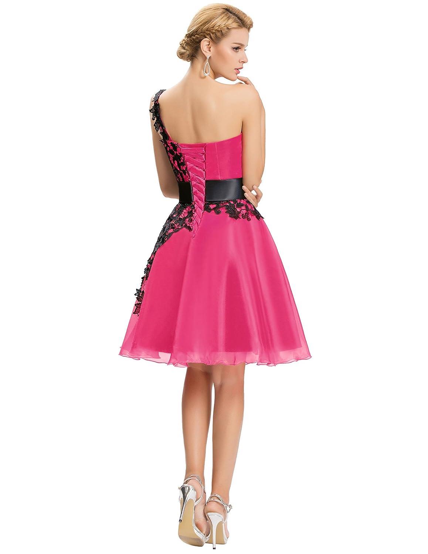 Vestido Rosa Vestidos de Fiesta cordones Vestidos para mujeres ...