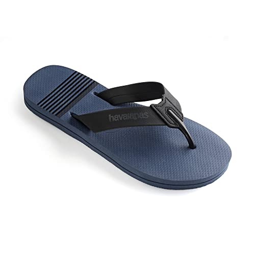 Havaianas Mens Boys Urban Craft Flat Flip Flops - Beige, Dark Grey UK 6/