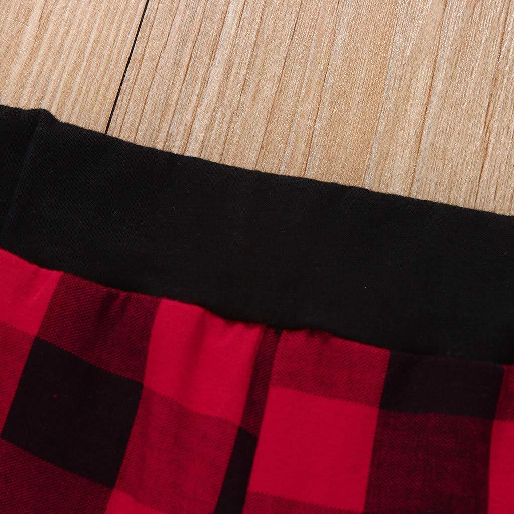 LGHOVRS Bambino Set Ragazzo Ragazza di Completi di Pantaloni Scozzesi Pagliaccetto per Neonato da Uomo Gentlemen con Lettere A Forma di Lettera Bambini Outfits Suit Tuta