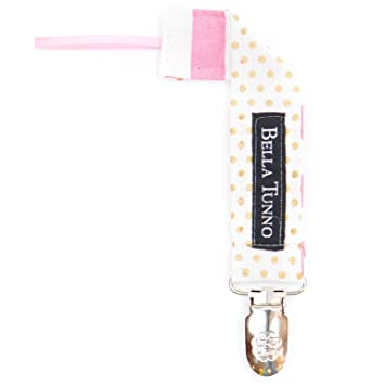 Amazon.com: Bella Tunno tela Loop Clip para chupete, Pin Dot ...