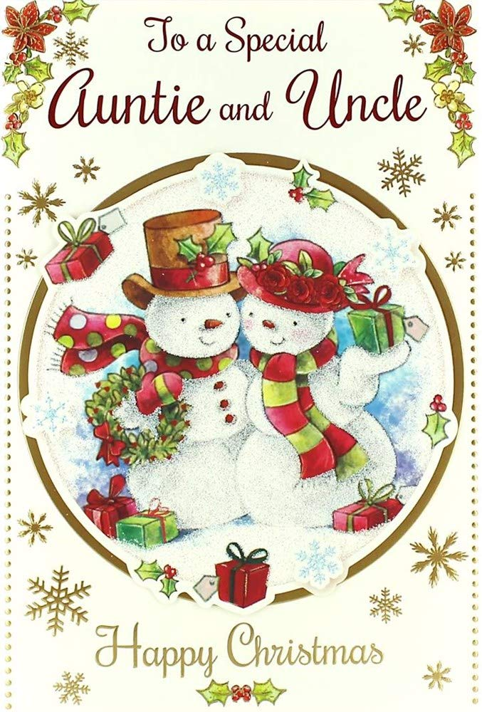 AUNT AUNTIE CHRISTMAS CARD CUTE TRADITIONAL ME TO YOU TATTY TEDDY AUNTY QUALITY