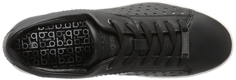 Bugatti / Damen J7605pr6n Sneakers Schwarz (Schwarz / Bugatti Weiss 111) abaf57