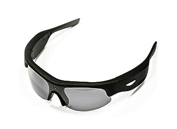 SportXtreme OverLook GX-5 Gafas deportivas con videocámara incorporada, 3 Mpx, resolución vídeo HD720p, polarizadas, 63 grados Ángulo de grabación, ...