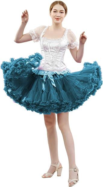 FOLOBE Traje de Tutú de Mujer Danza de Ballet Falda Hinchada de ...