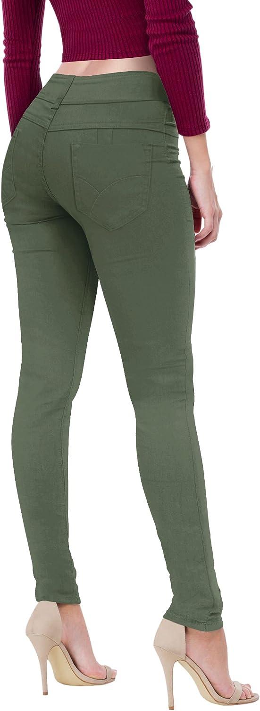Hybrid Womens Plus Lifting Skinny Jeans