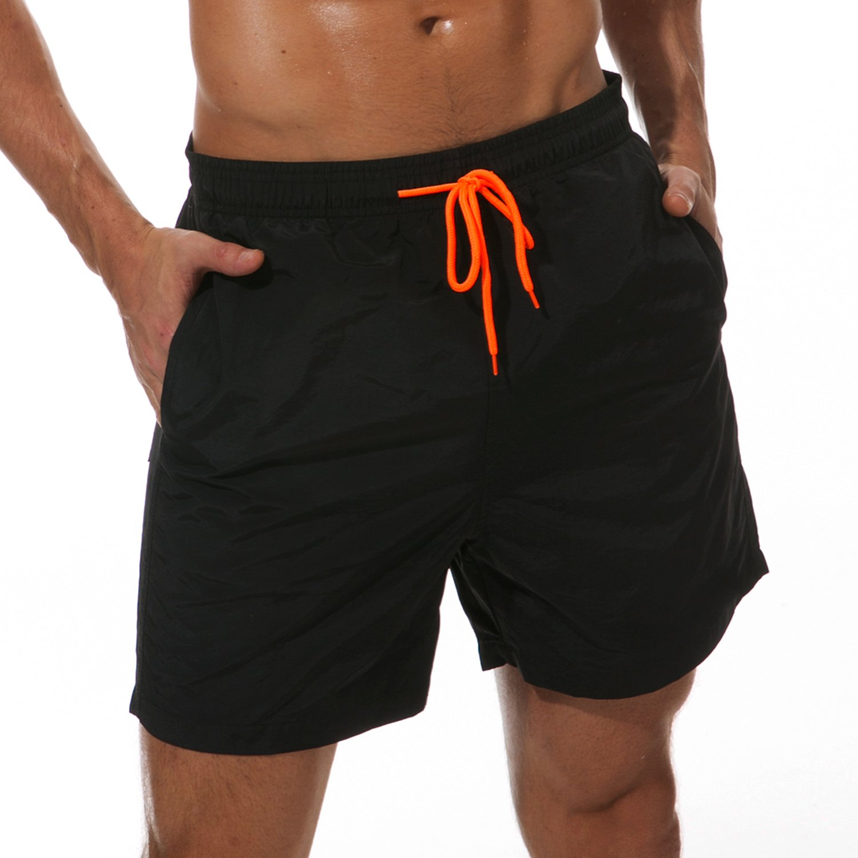 SILKWORLD Mens Swim Trunks Quick Dry Beach Shorts with Pockets