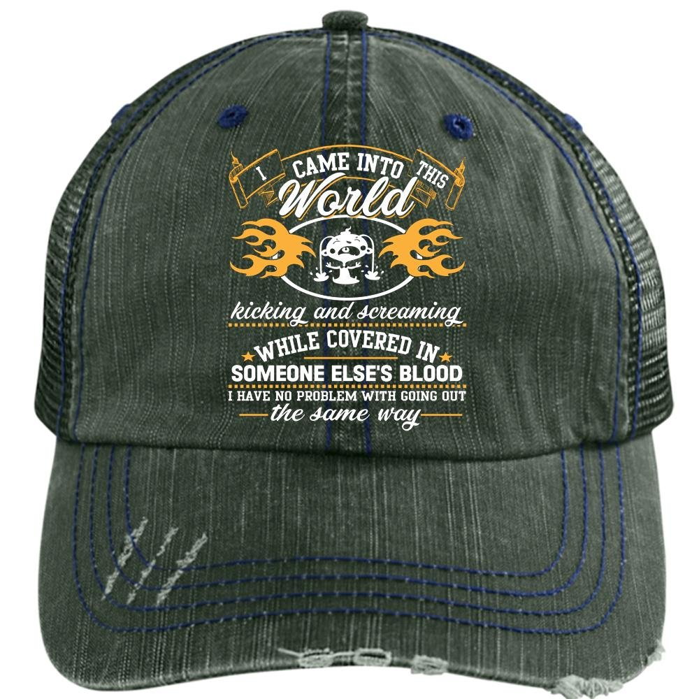 6c567eb6079 I Came Into This World Hat