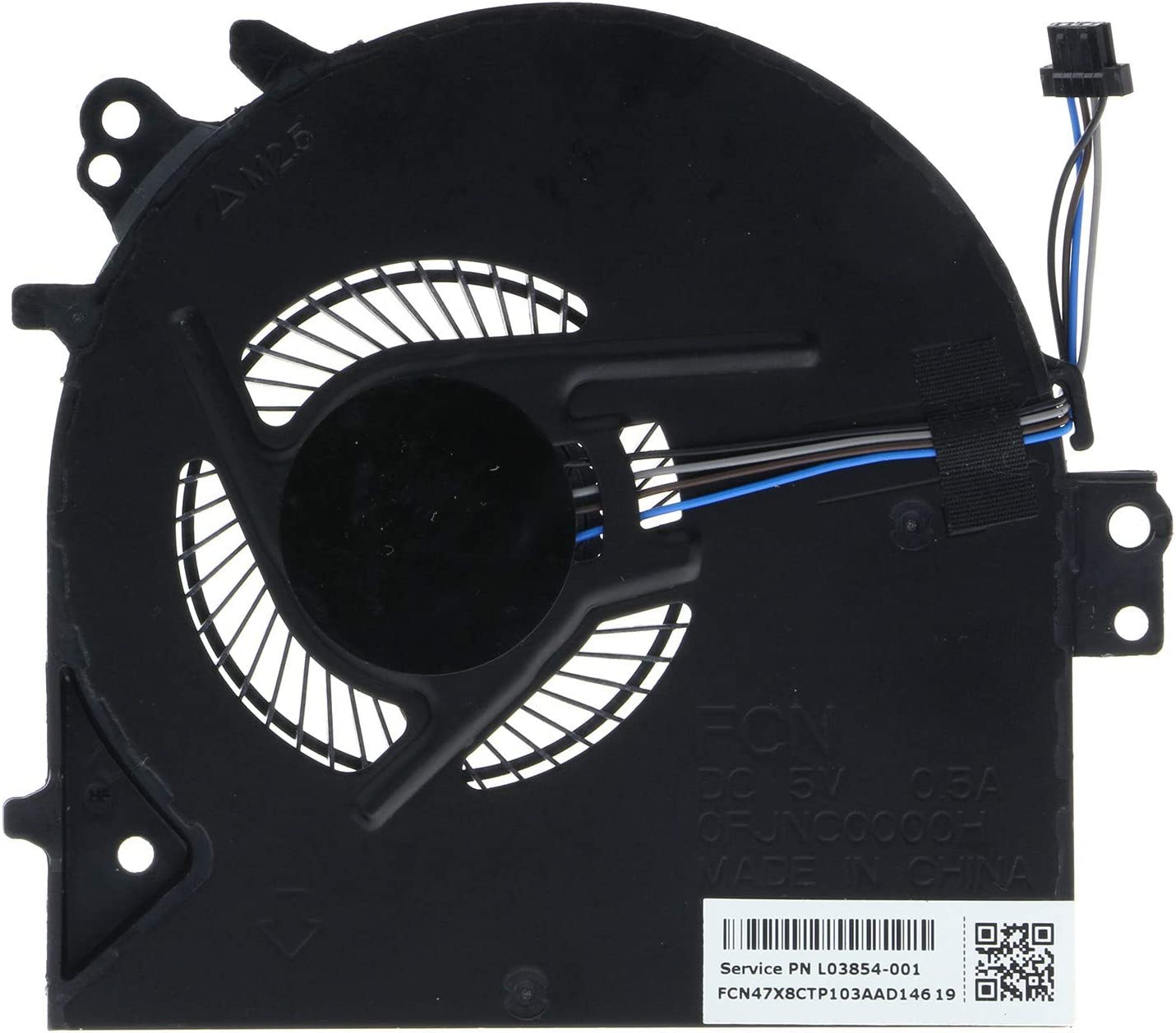 CPU Cooling Fan for HP Probook 450 G5 455 G5 Series L03854-001