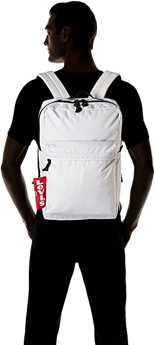 Amazon.com: Levis The Levis L Pack Big Tab, Mens Shoulder Bag, White (Noir Regular White), 12x29x45 cm (W x H L): Shoes