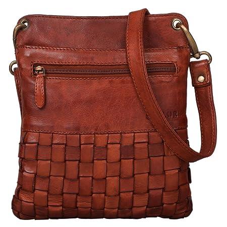 STILORD  Sophie  Shoulder Bag Women Small Leather Handbag Braided Crossbody Bag  Vintage Evening Party Bag in Genuine Leather ec43678b8e002