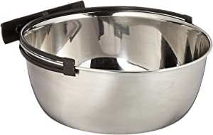 Midwest Stainless Steel Snap'y Fit Water and Feed Bowl (2 Pack)