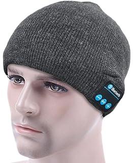 7898c0fc539 ULTRICS® Bluetooth Beanie Hat - Warm Unisex Winter Knit Cap to Enjoy  Wireless Music with…
