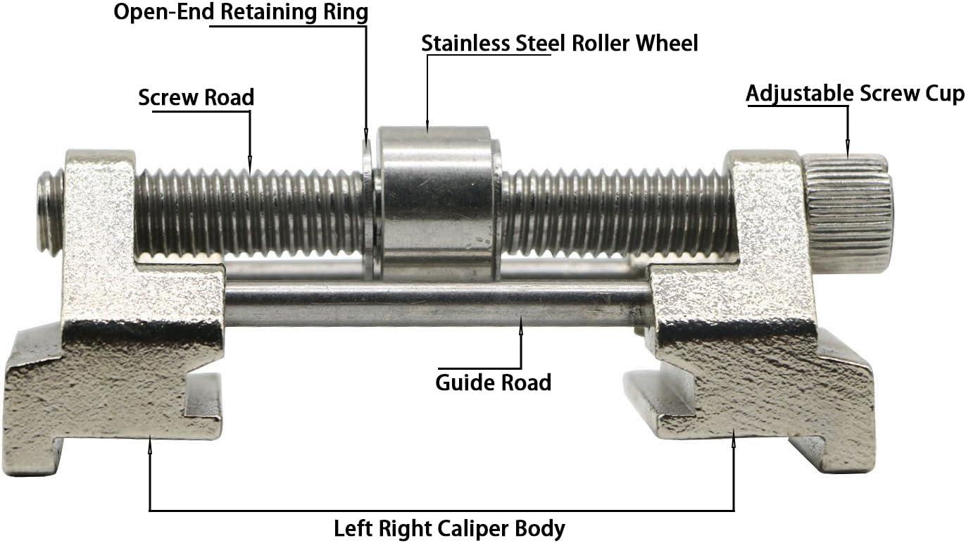hoja de planchas de hierro Gu/ía de afilado para sistema de afilado gu/ía de afilado ajustable de acero inoxidable