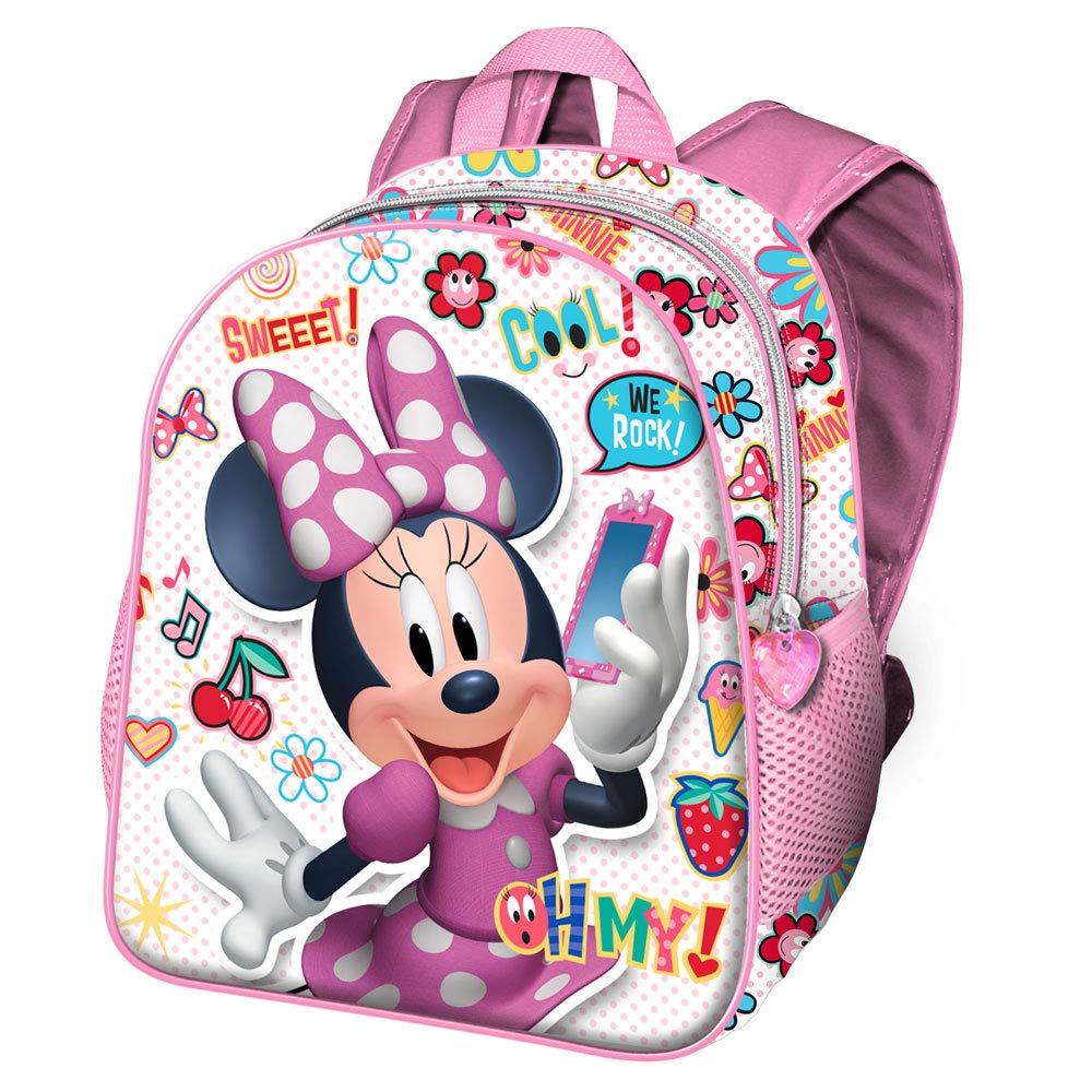 Multicolore Karactermania Minnie Mouse OhMy!-Sac /à dos pour Maternelle Zainetto per bambini Multicolour 30 cm 7 liters