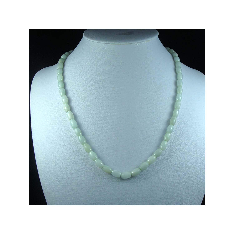 Promising-development A Grade Burmese Jadeite Myanmar Emerald Jade Lucky Necklaces Lulutong Bead Wonderful Birthday Gifts