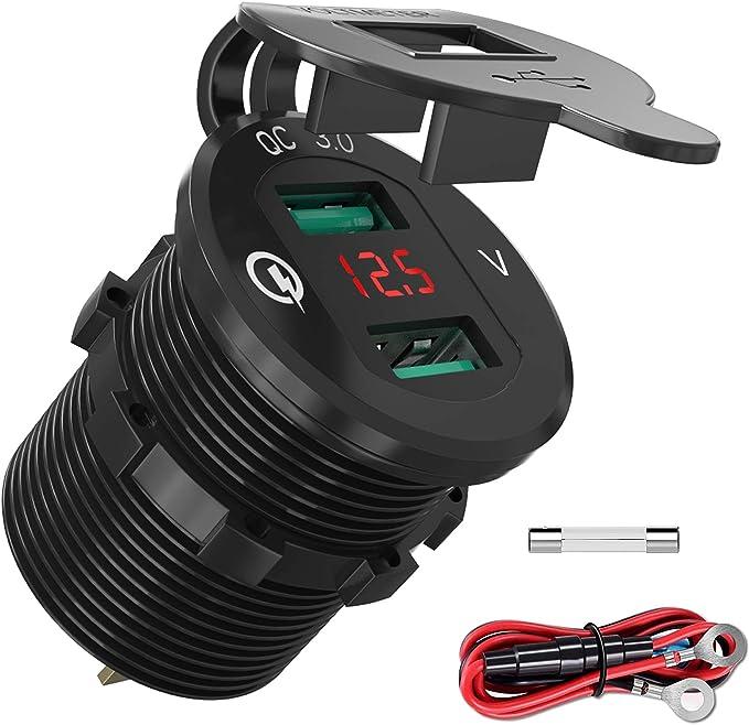 Quick Charge 3 0 Usb Auto Steckdose Kfz Ladegerät Elektronik