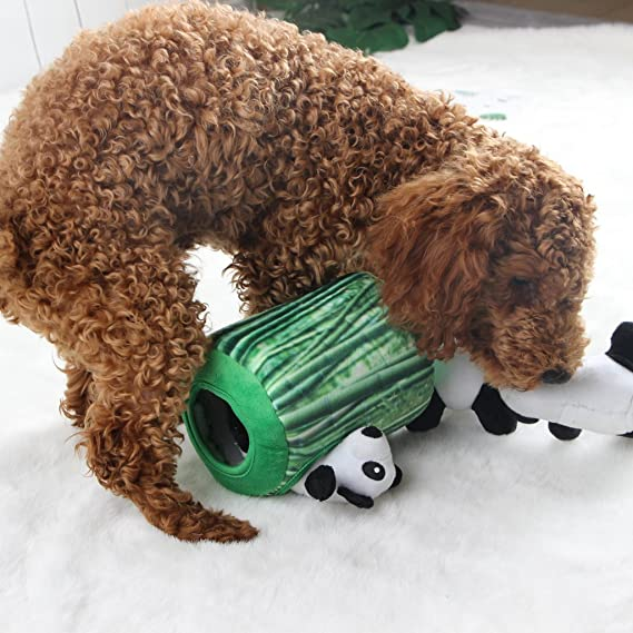 IFOYO Squeaky Juguetes para perro, duraderos, puzzle de peluche interactivo para perros medianos y pequeños, mascotas: Amazon.es: Productos para mascotas