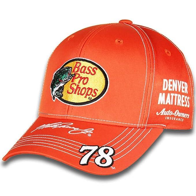 9956c0b4da99d Amazon.com   NASCAR Adult Driver Sponsor Uniform Adjustable Hat Cap-Martin  Truex Jr.  78-Bass Pro Shops   Clothing