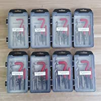 7 Kinds of Recoil Thread Inserts Installation Kit Repair Tool Drill Tap M5 M6 M8 M10 M12 SK1051 : 15 Pcs M12 x 1.25