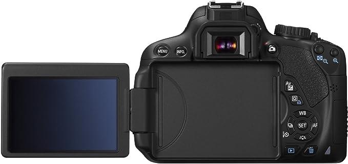 Canon EOS 650D - Cámara réflex digital de 18 Mp (pantalla táctil ...