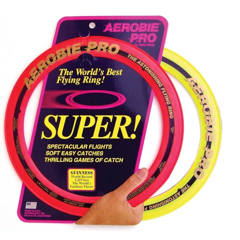 Aerobie Sprint Flying Ring, 13'' Diameter, Assorted Colors, Set of 2 by Aerobie