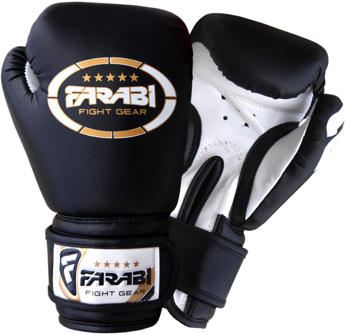 Farabi Junior Flag Series Boxing Gloves MMA Training Sparring Spain Flag Gloves