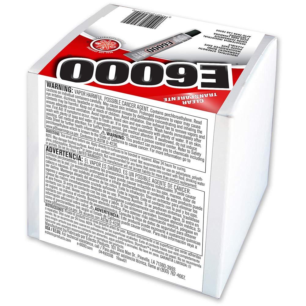 E6000 230450 Craft Adhesive, 0.18 fl oz,  50 Piece Box by E6000 (Image #2)