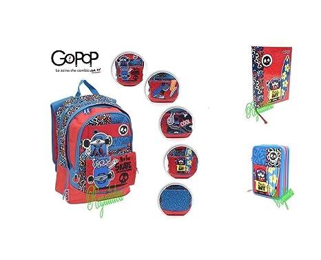 rivenditore di vendita e7e45 7995b ZAINO SCUOLA GOPOP irriverent pop-up estensibile GIOCHI ...