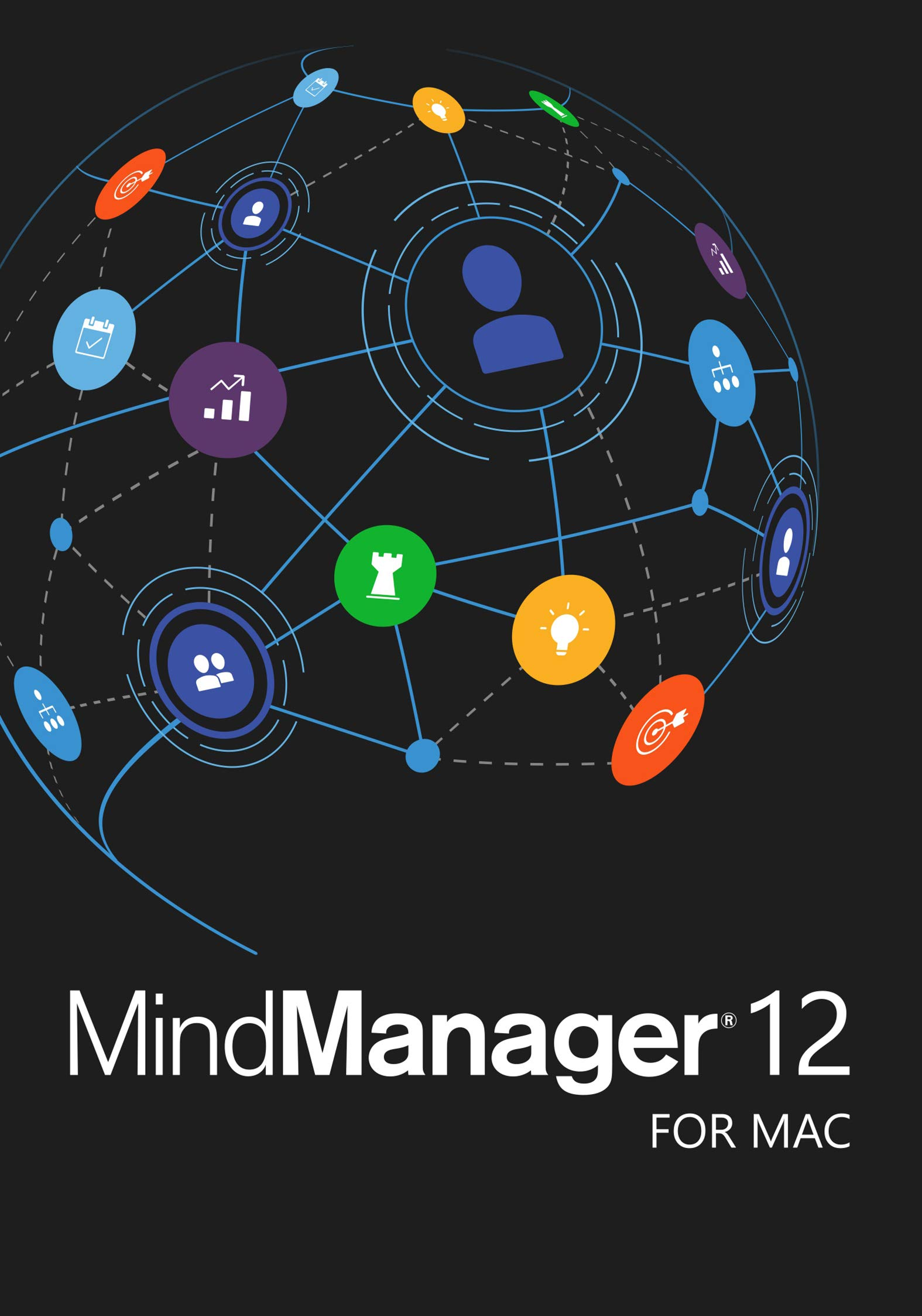 MindManager 12 for Mac - Digital Mind Mapping & Data Visualization [Mac Download] by Corel