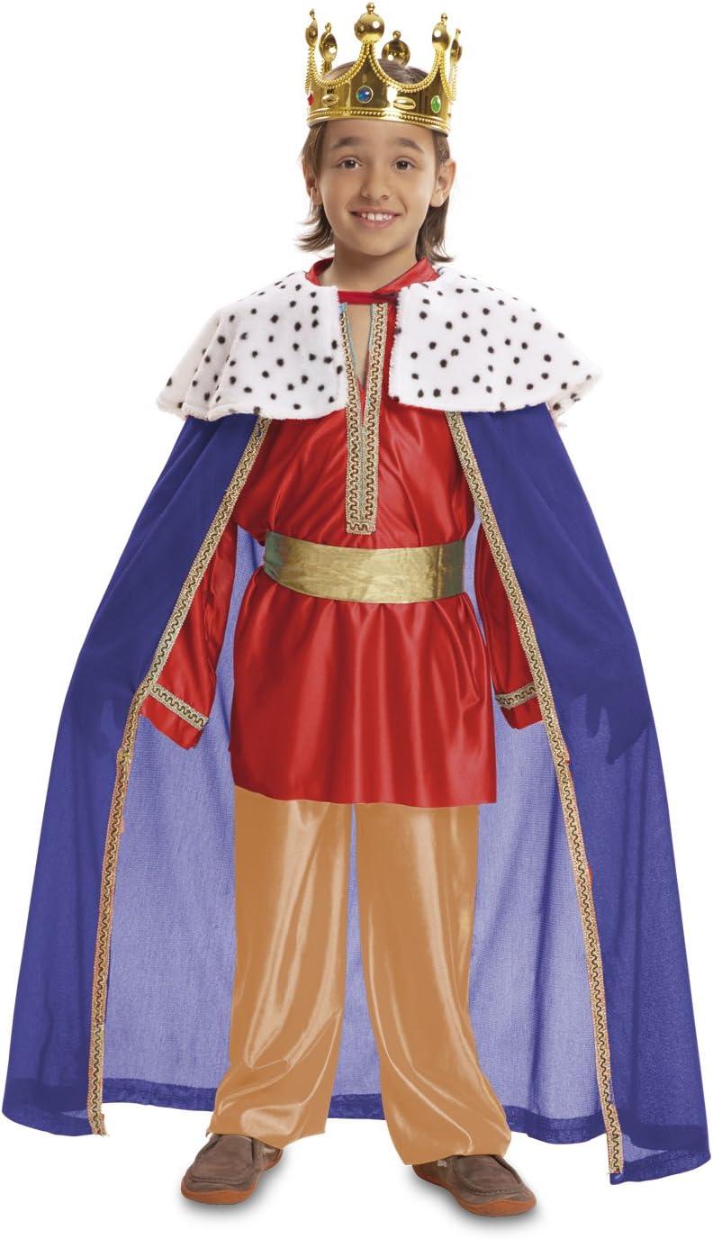 My Other Me Me - Disfraz de Rey mago, talla 7-9 años, color rojo ...