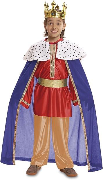 My Other Me - Disfraz de Rey Mago, Talla 3-4 años, Color Rojo ...