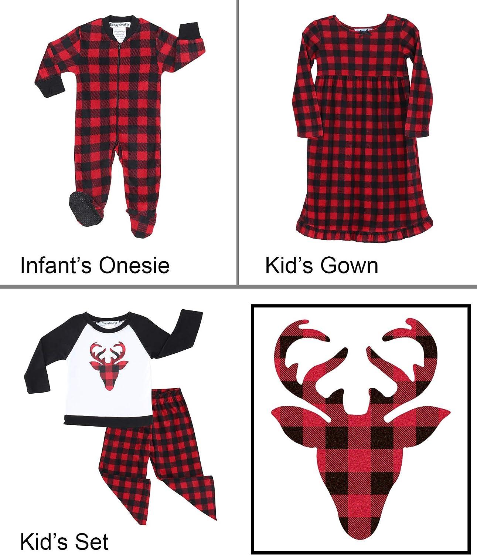 SleepytimePJs Matching Family Christmas Pajama Sets Fleece PJ Sets