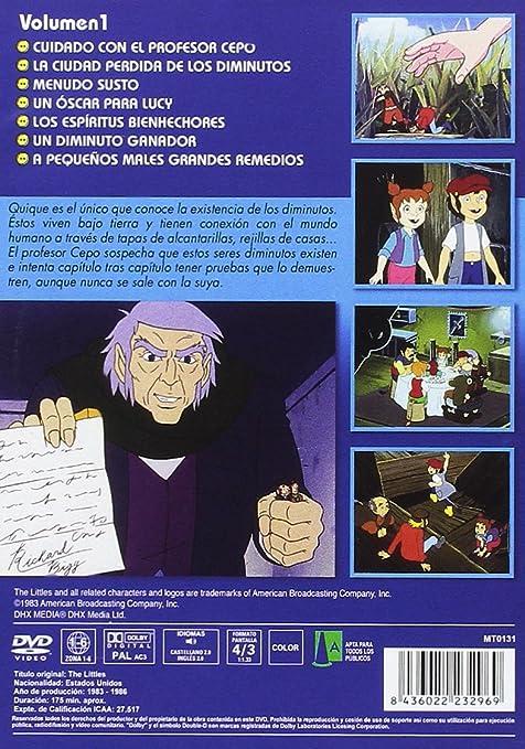Los Diminutos - Vol. 1 [DVD]: Amazon.es: Dibujos Animados ...
