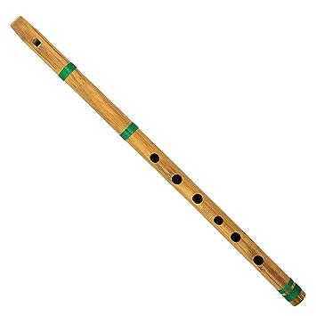 Shalinindia Indische Musikinstrumente Bambus Querflote Bansuri