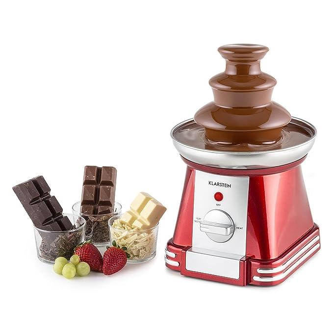 Oneconcept Chocoloco Fuente de Chocolate eléctrica (32 W ...