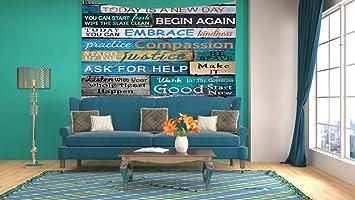 Amazon Com Handicrafts Tapestry Mediterranean Style Wooden Quote