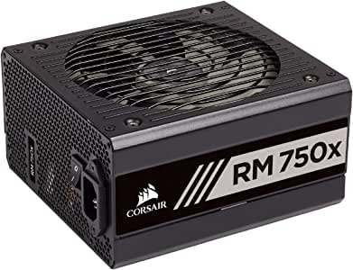 Corsair CP-9020179-AU RMX Series. RM750x 80 Plus Gold Fully Modular ATX Power Supply, Black, 750W