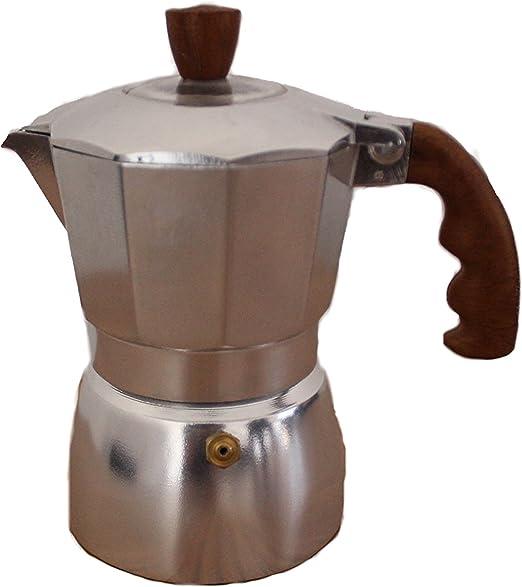euronovità en-84234 Cafetera 6 Tazas Elite radica Moka Espresso ...