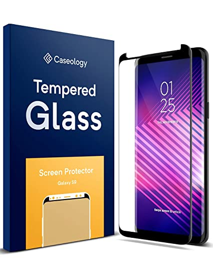 new product 7299e fd96a Caseology Screen Protector for Galaxy S9 Tempered Glass (2018) - 1 Pack