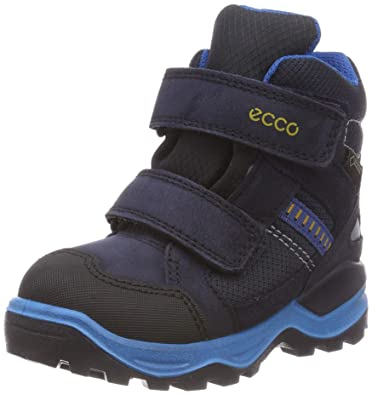 85a8371ec68 ECCO Unisex Kids' Snow Mountain Boots: Amazon.co.uk: Shoes & Bags
