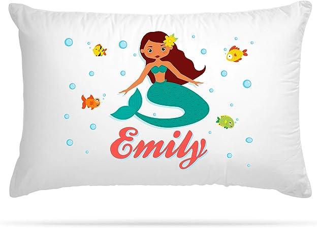Personalized Pillowcase Girls Mermaid