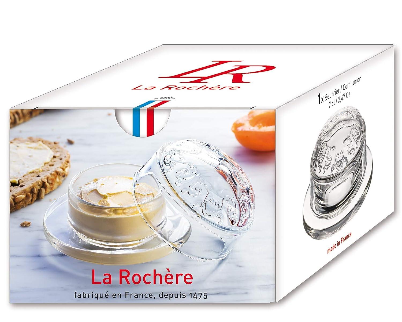 transparent La Rochere 640301 Versailles Butterdose Confiturier 0,07 l